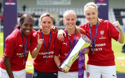 Arsenal women's team secure first major partnership with Mastercard