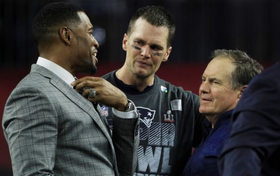 Tom Brady and Michael Strahan raise US$3m for Religion of Sports
