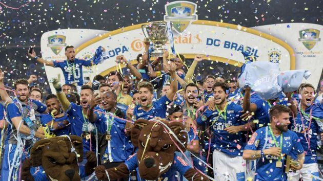 Cruzeiro extend Caixa partnership for 2018