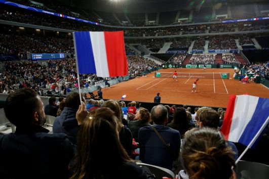 Lacoste aces deal for Davis Cup final