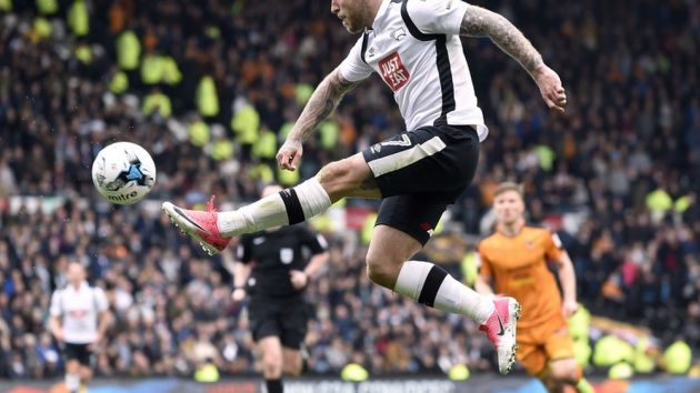 be041d41d32 Derby County pen extension with Umbro. English soccer side renew with kit  supplier until ...