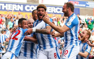 Huddersfield Town unveil Leisu Sports as new sleeve sponsor