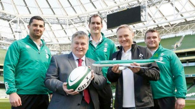 Aer Lingus checks in with Irish Rugby