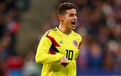 James Rodríguez extends Libertex deal ahead of World Cup