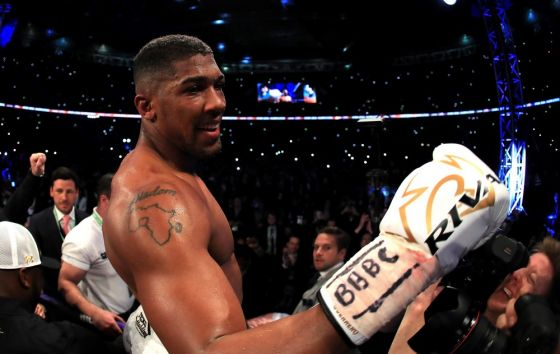 Anthony Joshua signs two-fight Wembley Stadium deal