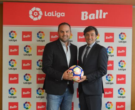 Live fantasy app Ballr teams up with La Liga