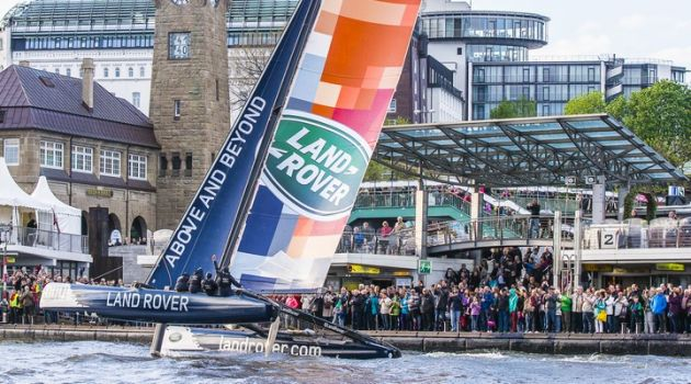 Land Rover extends sponsorship of Extreme Sailing Series