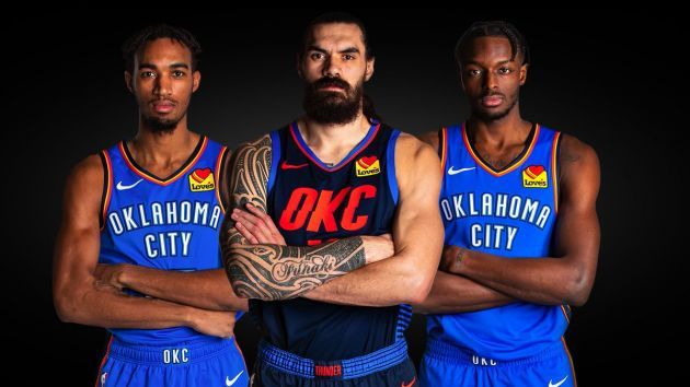 brand new 48955 57404 Oklahoma City Thunder in Love with US40m new patch sponsor ...