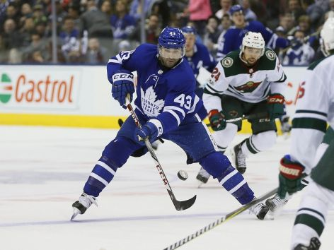 Toronto Maple Leafs face off with Casper