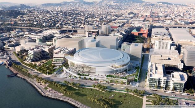JPMorgan Chase takes naming rights to new Warriors arena