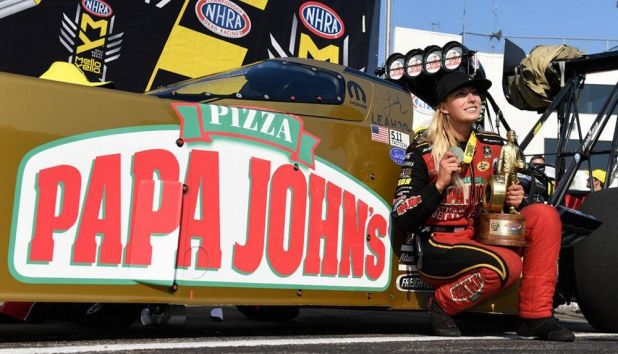 NHRA orders another year of Papa John's