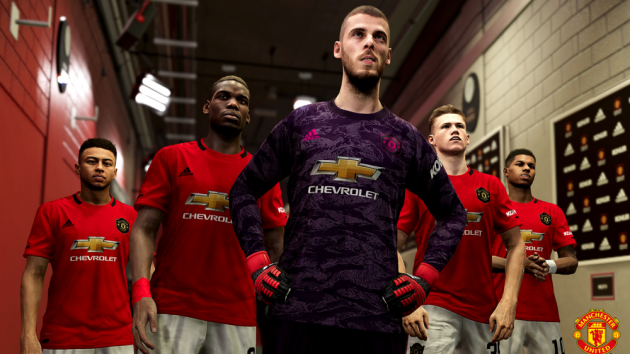 Manchester United collaborate with Konami on PES 2020