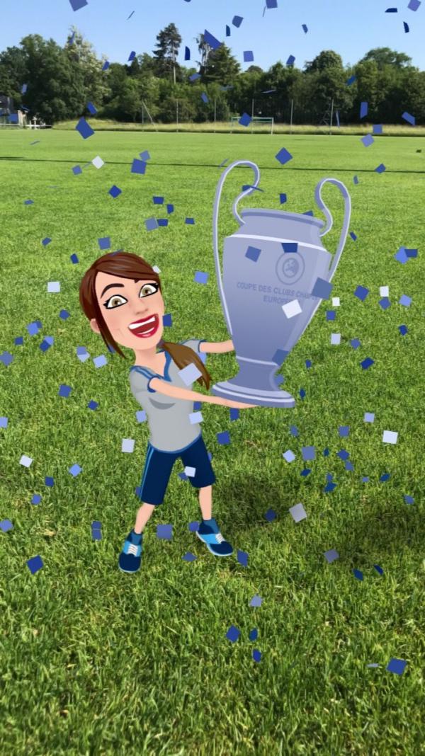Uefa enlists Snap Inc for Champions League final AR