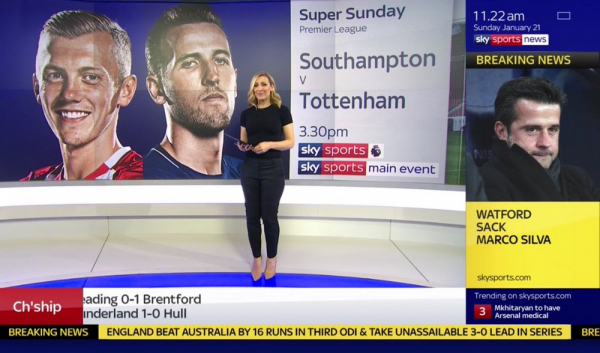 Sky Sport News Moderator