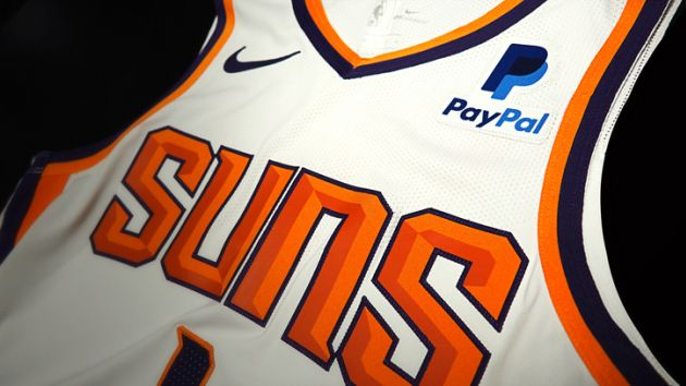 huge discount a04f8 c78bc Phoenix Suns sign PayPal to first jersey patch sponsor deal ...