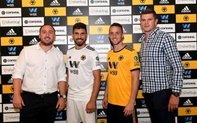 Wolves cash in sleeve deal with cryptocurrency platform