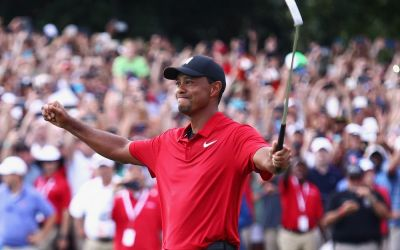Woods' Tour Championship win ropes in record streaming figures
